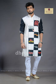 Designer Kurta - A tribute to Sri Satyajit Ray - Boutique Dheu