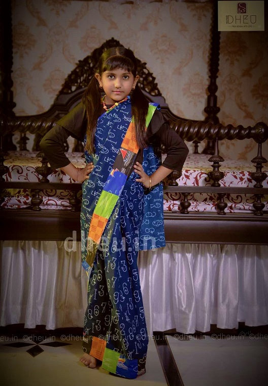 Baby Girls' Saree - Boutique Dheu