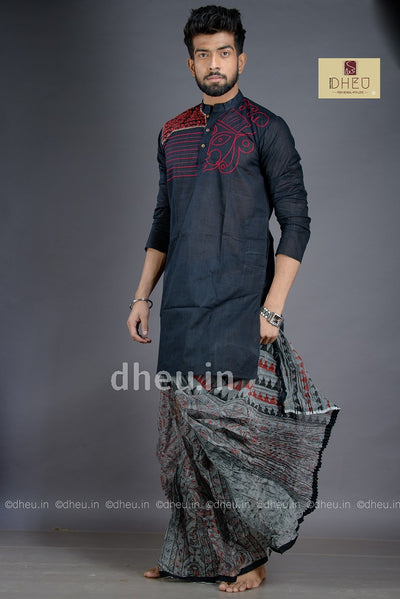 Durga -Designer Kurta (Without Dhoti) - Boutique Dheu