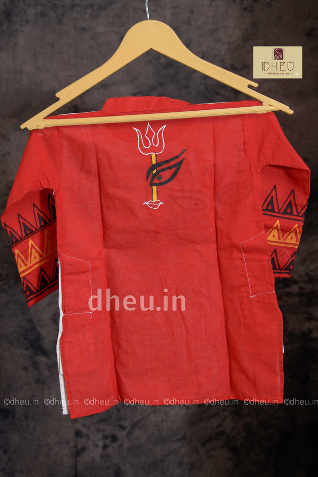 Cotton Designer Kurta for Boys - Boutique Dheu