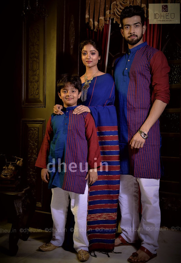 Loving Family Set-Khesh Cotton-a Dheu Signature Product - Boutique Dheu