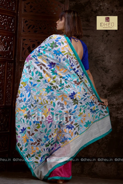 Kantha Fusion -A Dheu Invention - Boutique Dheu
