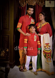 Loving Family Set-Lakkhi Pecha- Dheu Product(Without Dhoti)
