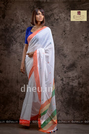 Independence Day Saree-Kurta Couple Set - Boutique Dheu
