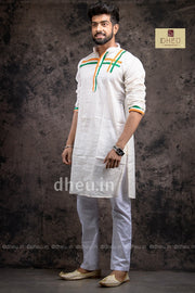 Independence Special  Kurta for Men - Boutique Dheu