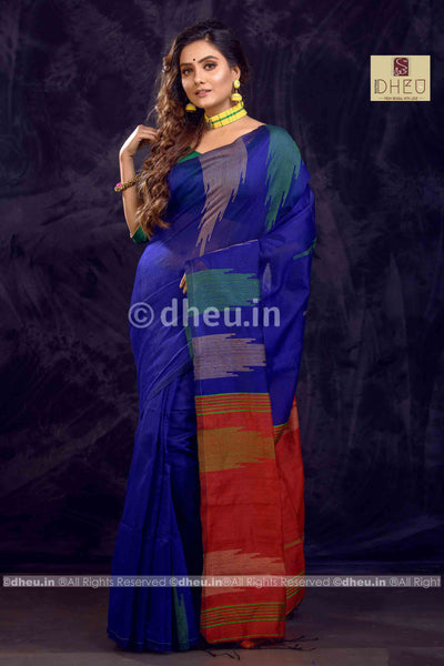 Handloom Silk Saree - Boutique Dheu