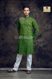 Handwoven Pure Khadi Saree - Boutique Dheu