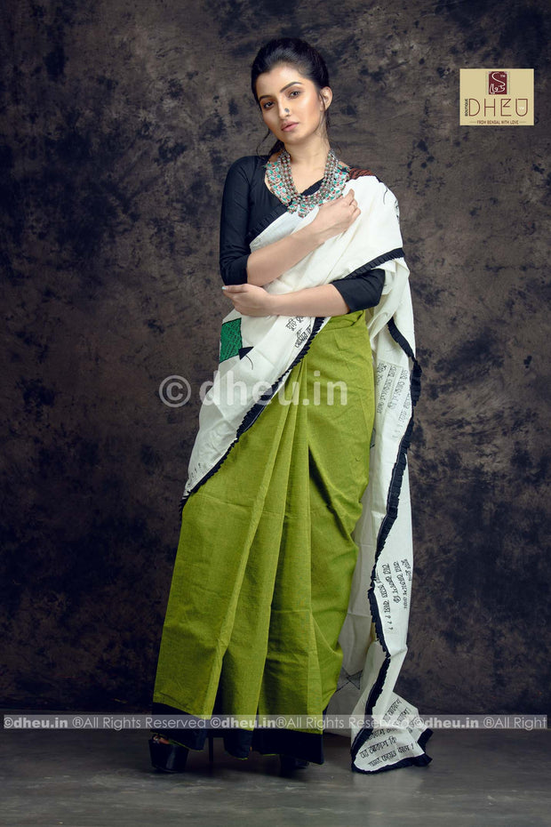 Kite Applique-Dheu Exclusive Applique Saree