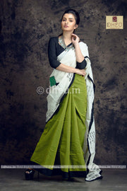 Kite Applique-Dheu Exclusive Applique Saree - Boutique Dheu