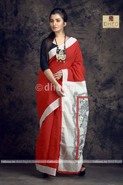 Macher Biye-Dheu Exclusive Potochitro Saree