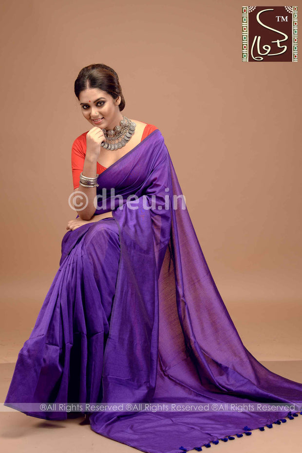 Albeli – The Urban Drapes- Ink Purple - Boutique Dheu