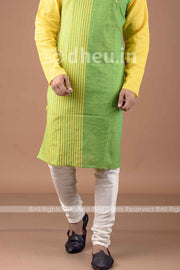 White Cotton Churi Pant- Handloom Cotton