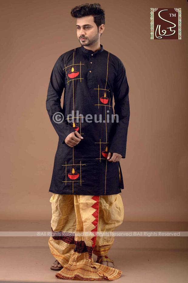 Dhoti Kurta Set - Boutique Dheu