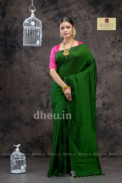 Albeli – The Urban Drapes-white-Green - Boutique Dheu