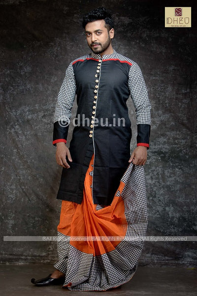 Dhoti Kurta Full Set - Boutique Dheu
