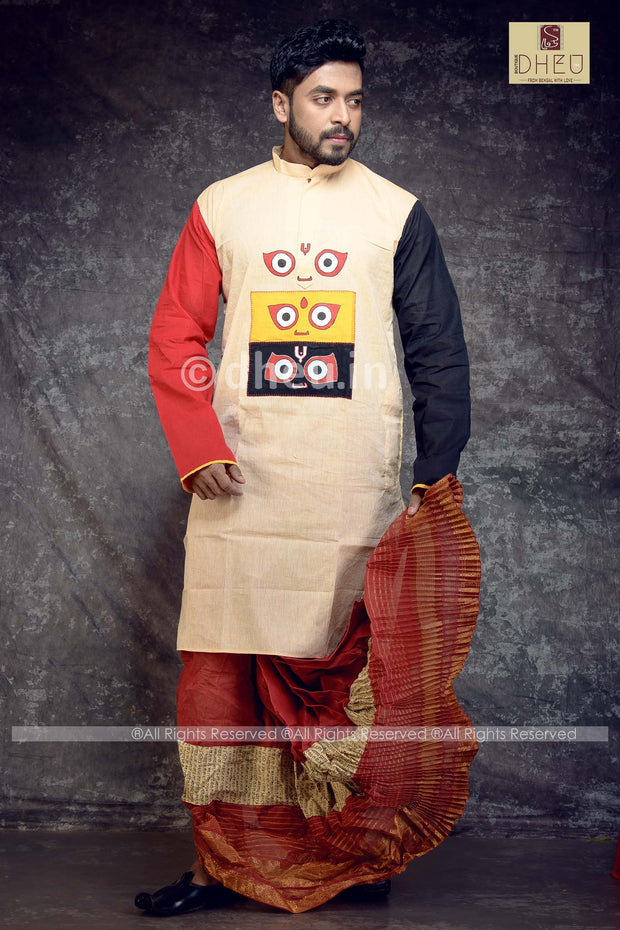 Jai Jagannath Kurta - Boutique Dheu