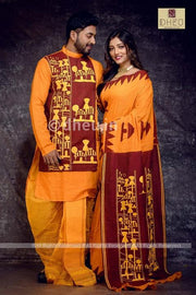 Loving Family Set-Amader Choto Gram-a Dheu Product - Boutique Dheu