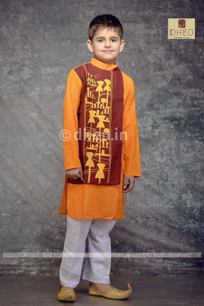 Amader Choto Gram Kurta for Boys - Boutique Dheu