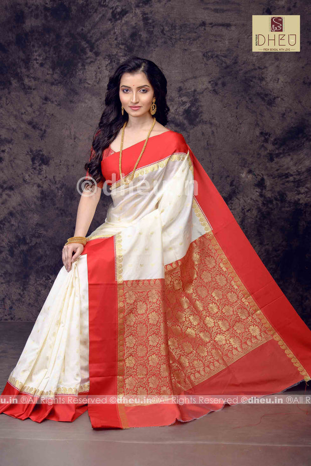 Gorod Art Silk Handloom Saree-Festive Wear - Boutique Dheu