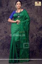Handloom Silk Sequence Saree