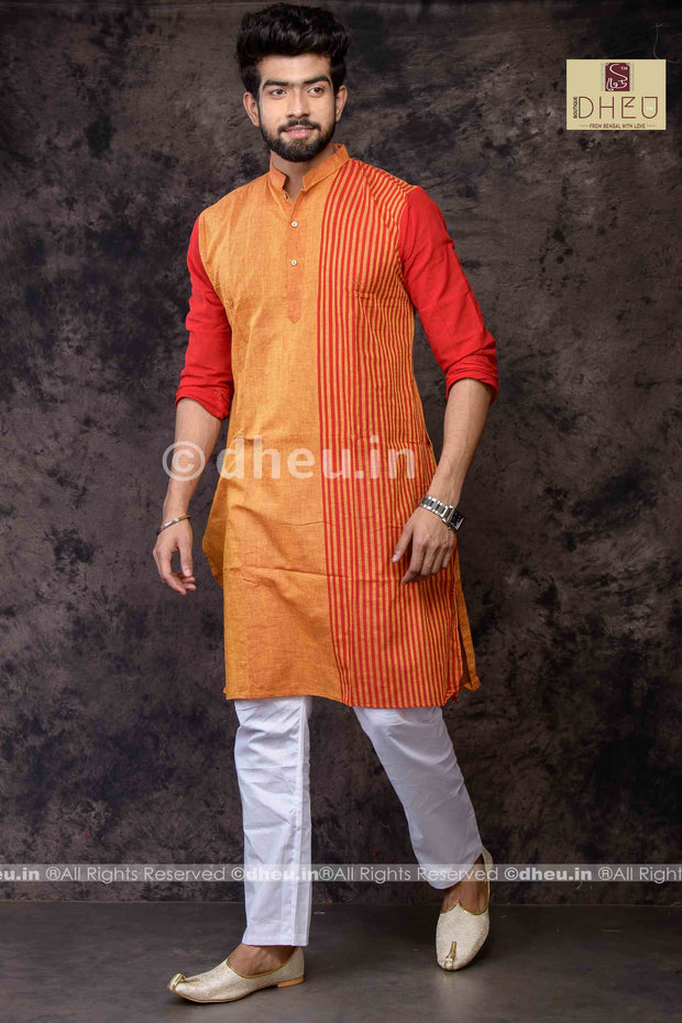 Pure Cotton Stripe  kurta