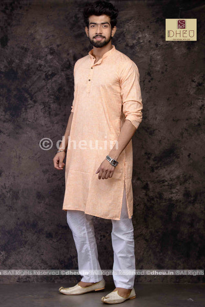 Designer  Linen-Cotton Kurta for men - Boutique Dheu