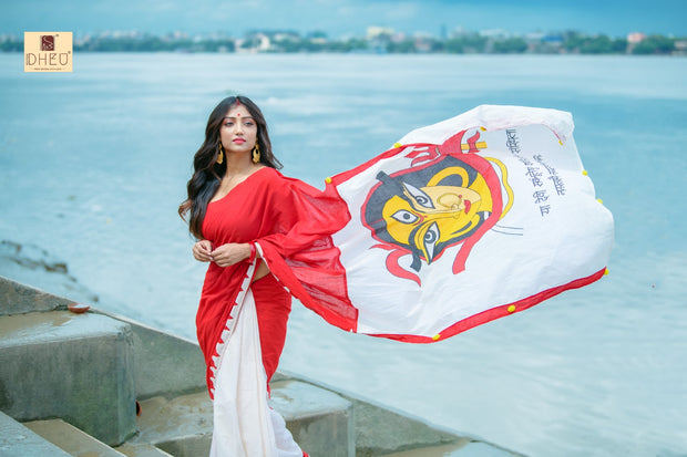 Exclusive  Durga Saree - Boutique Dheu
