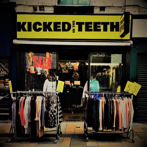 "KICKED IN THE TEETH - S/T - 10"" [BLACK]"