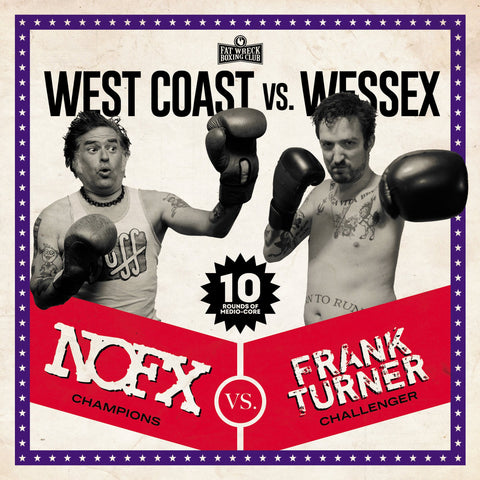 NOFX / FRANK TURNER - WEST COAST VS. WESSEX - 12""