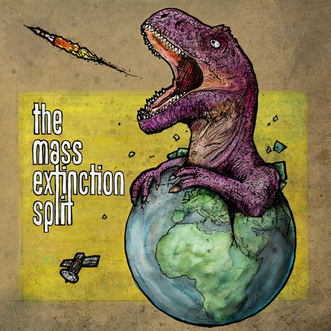 STÖJ SNAK / SPEED DINOSAURS – The Mass Extinction Split 7″