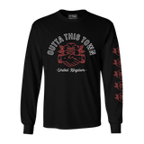 Outta This Town Handshake Long Sleeve T-shirt Black