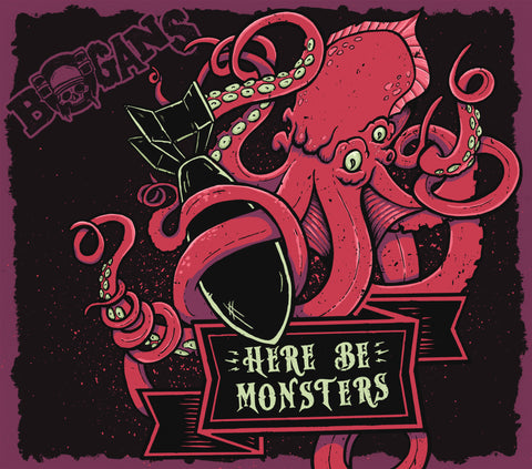 Bogans - Here Be Monsters E.P