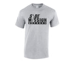 SMR Tee - Distressed Logo - Grey