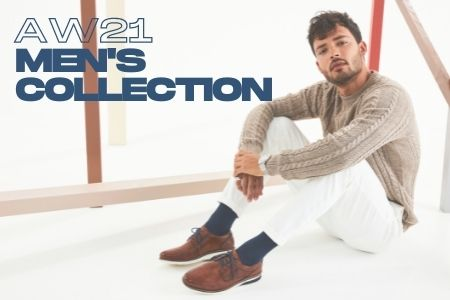 Men's footwear collection AW21 from PurpleTag.ie