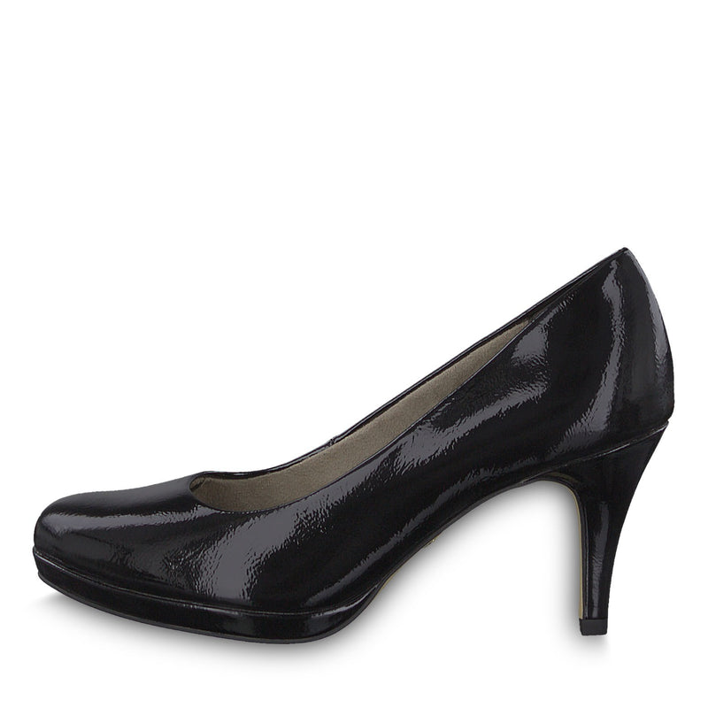 Tamaris - 22444 Black Patent Shoes