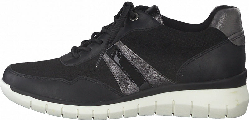 Tamaris - 23762-26 Black/Pewter Runners