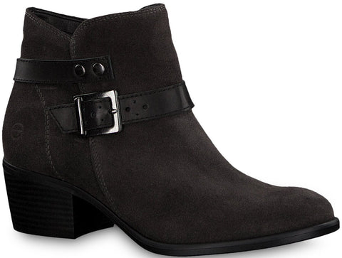 Tamaris - 25010 Anthracite Ankle Boots