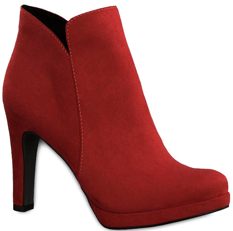 Tamaris - 25316 Lipstick/Red Ankle Boots