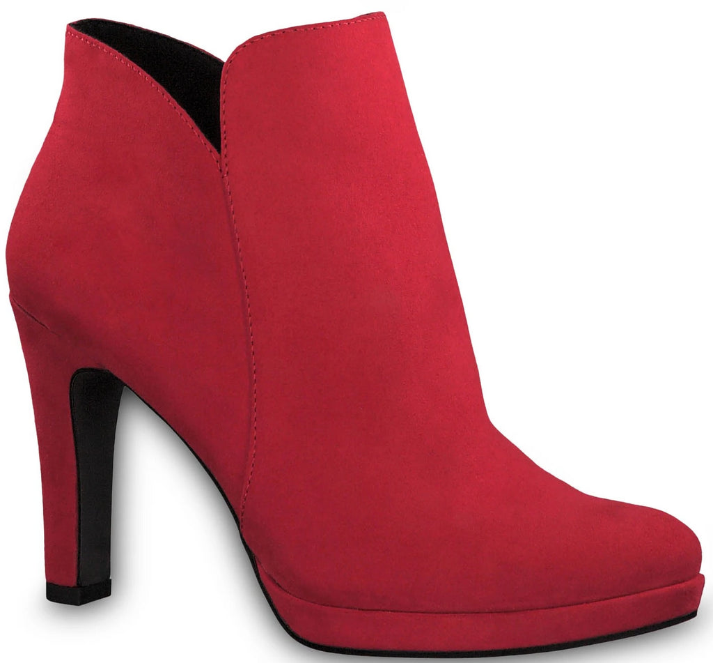 Tamaris - 25316 Lipstick Red Ankle Boots