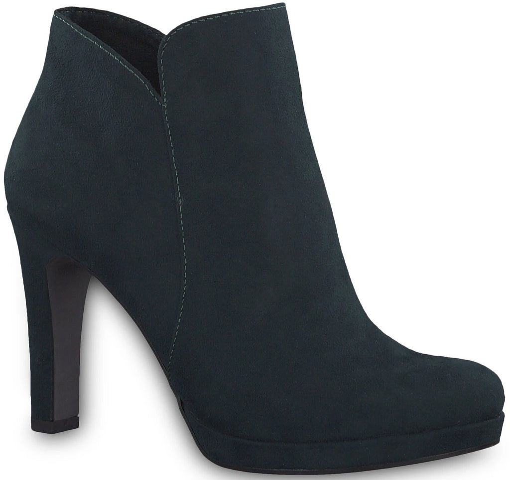 Tamaris - 25316 Bottle Green Ankle Boots