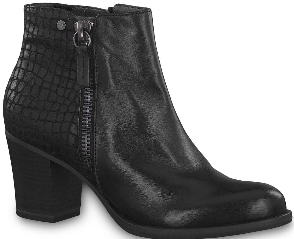 Tamaris - 25338 Black Ankle Boots