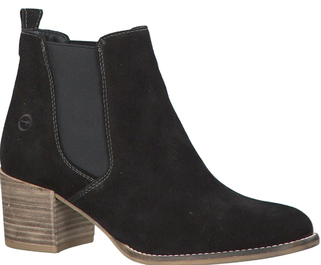 Tamaris - 25342 Black Ankle Boots