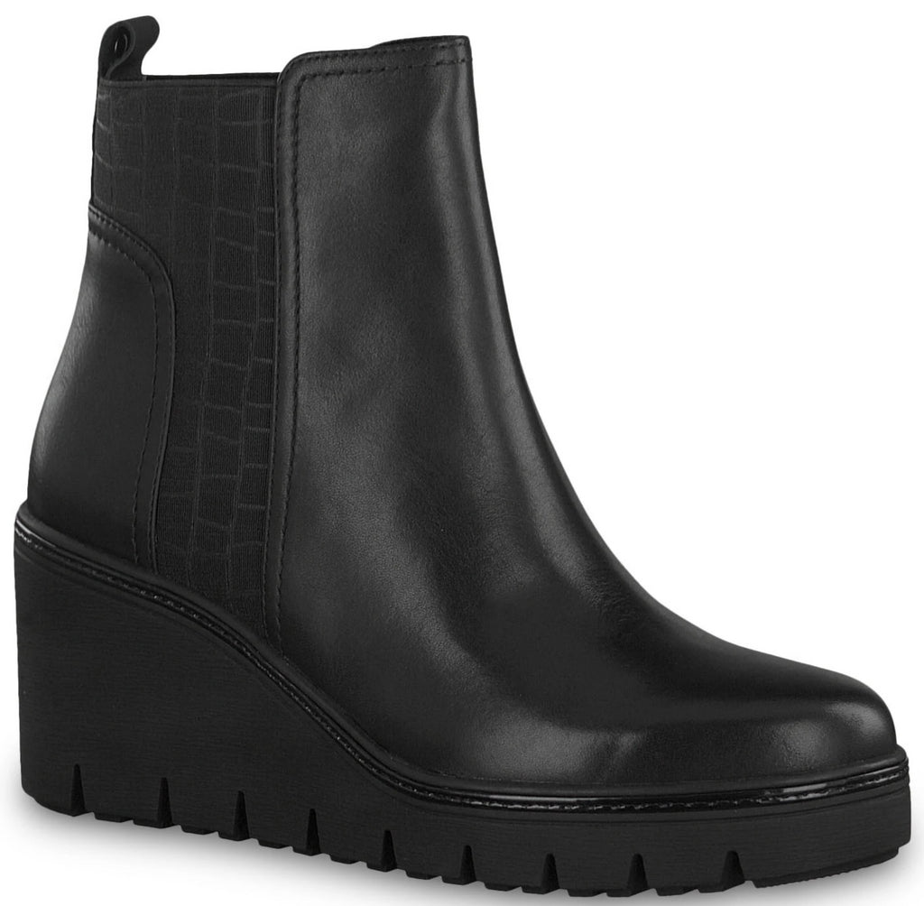 Tamaris - 25430 Black Ankle Boots
