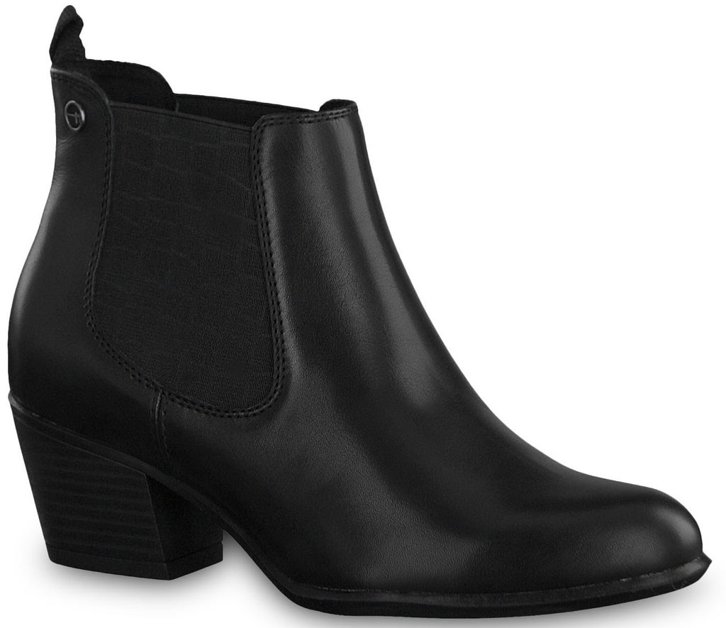 Tamaris - 25701 Black Ankle Boots