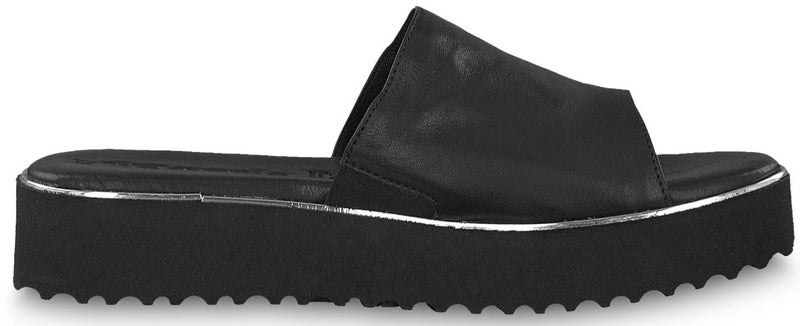 Tamaris - 27204 Black Slide Sandals