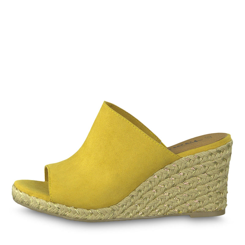 Tamaris - 27225 Yellow Slide Sandals