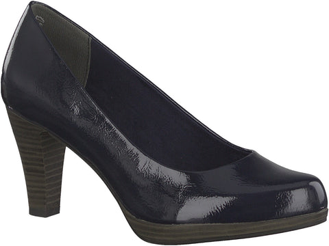 Marco Tozzi - 22409 Navy Patent Court Shoes