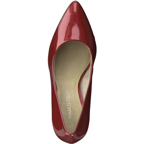 Marco Tozzi - 22415 Red/Chilli Patent Court Shoes