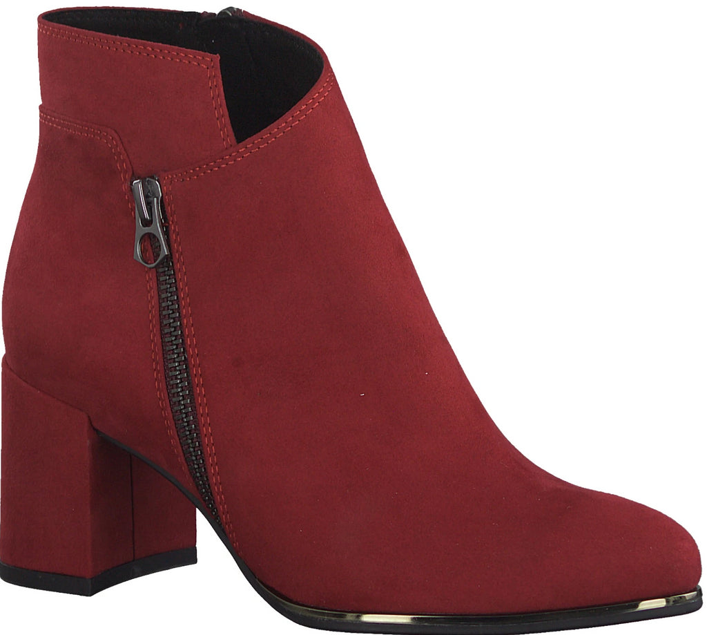 Marco Tozzi - 25015 Red Ankle Boots