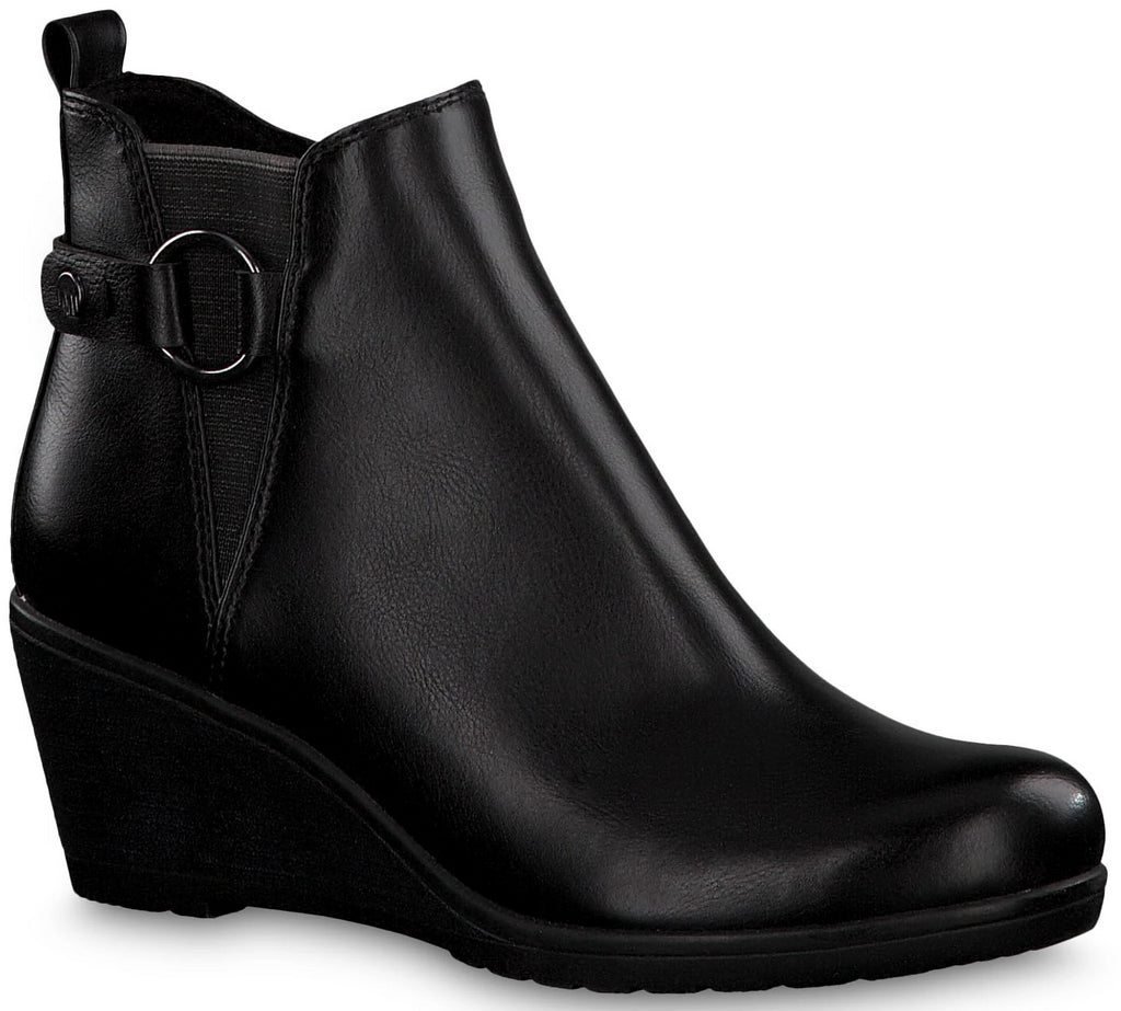Marco Tozzi - 25330 Black Ankle Boots (dont publish - stock is in clonmel)